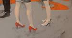 Palermo – Si è da poco conclusa la mostra personale di Aurelio Caruso dal titolo Le scarpe rosse di Paola tenutasi presso la Galleria Studio 71 di Via Fuxa, 9 a Palermo.