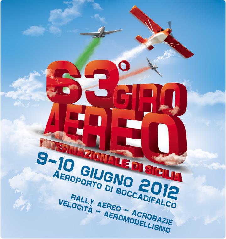 Manifesto 63 Giro Aereo Sicilia