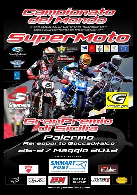 Poster Supermoto Sicilia