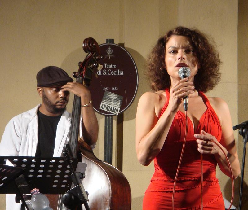 La cantante jazz Roberta Gambarini