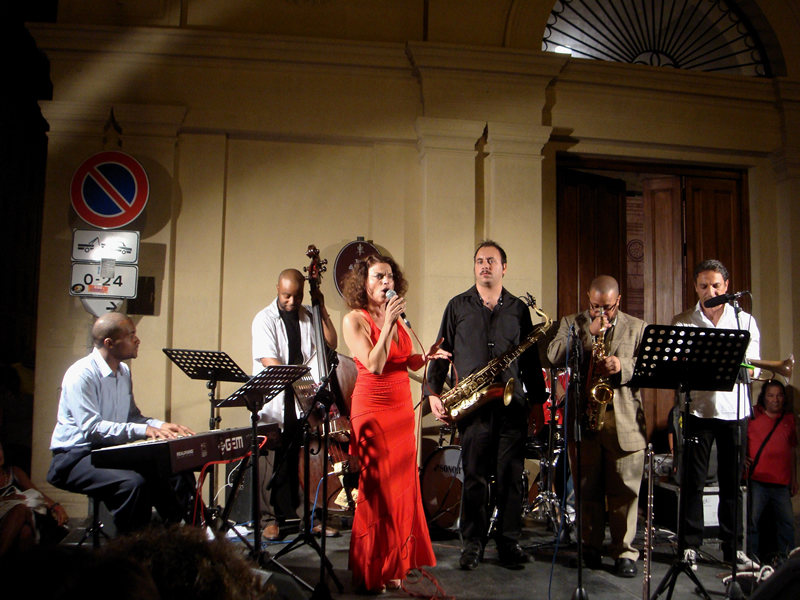 La band di Roberta Gambarini