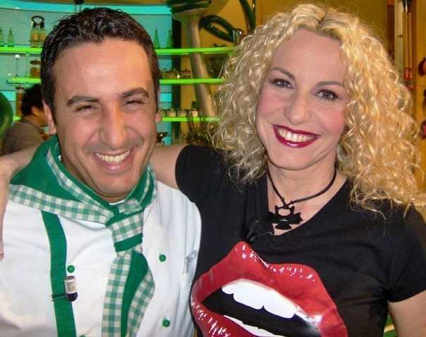 Natale Giunta e Antonella Clerici