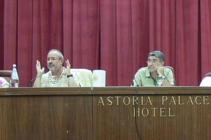 Segretario Nazionale UIL Barbagallo e Segretario Regionale UIL Barone