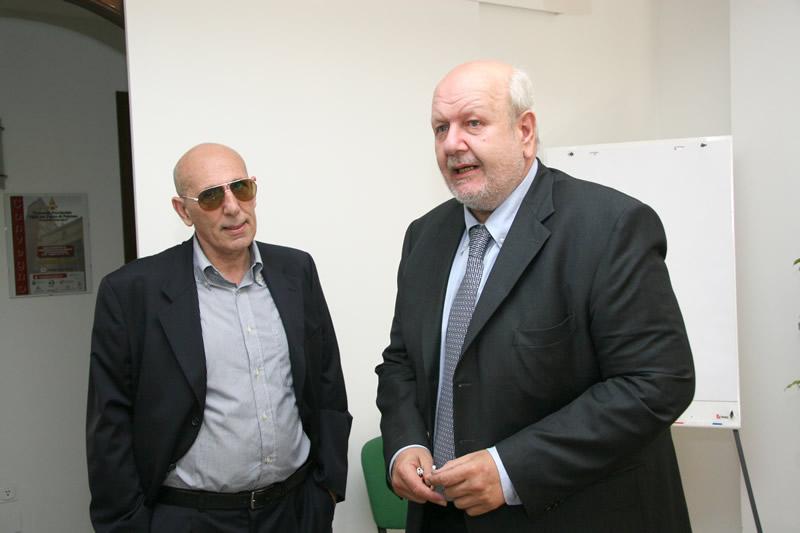 Prof. Giuseppe Giordano e Dott. Aurelio Scavone