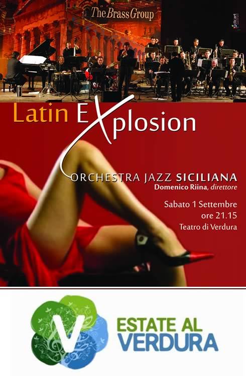 Locandina Latin Explosion 2012