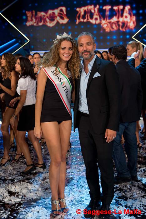 Miss Italia Giusy Buscemi e Beppe Fiorello