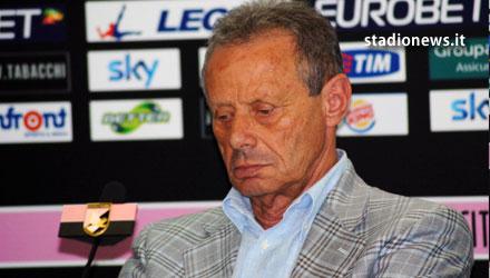 Il presidente del Palermo Zamparini