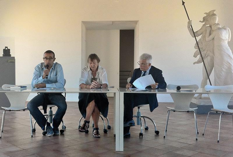 Rosario Perricone, Marianne Vibaek e Francesco Giambrone