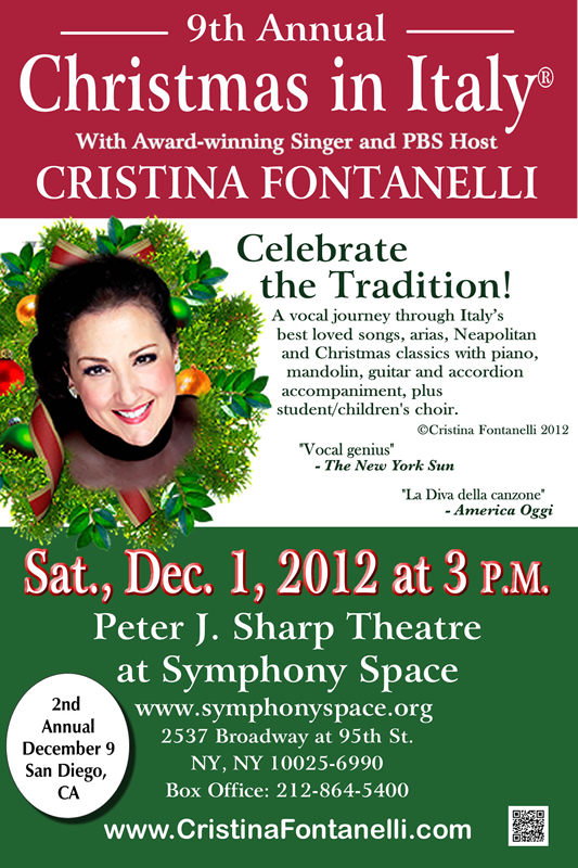 Cristina Fontanelli's 9th Annual 'Christmas in Italy'