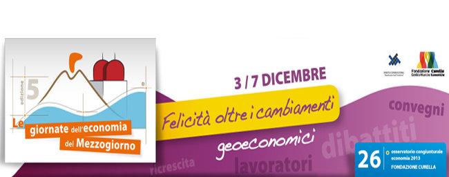 """Locandina """"Le giornate dell'economia del Mezzogiorno"""" 2012"""