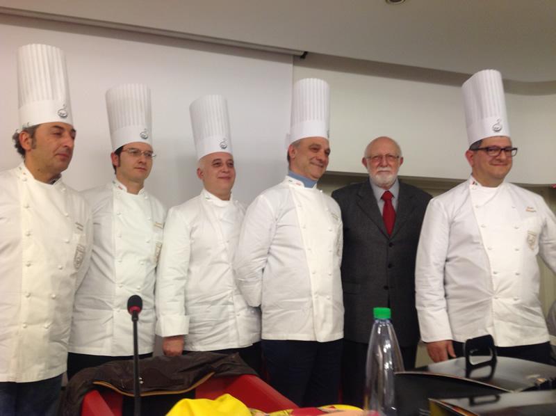 I Maestri pasticceri con Gaetano Basile