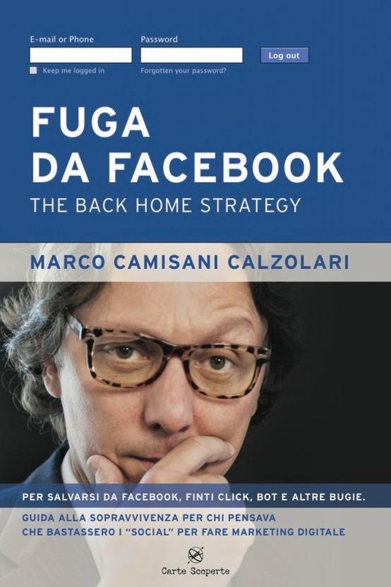 La copertina del libro di Marco Camisani Calzolari