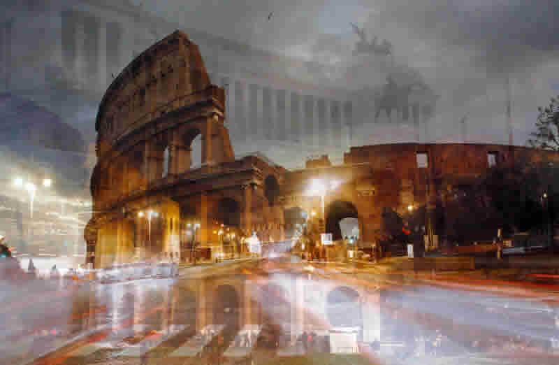 Roma - Colosseo notturno