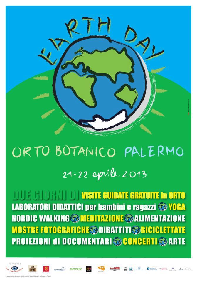 Locandina Earth Day