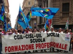 manifestazione form prof in Sicilia