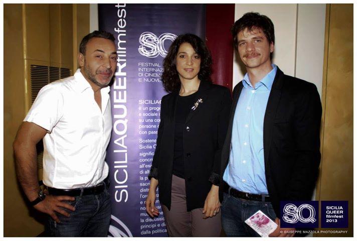 Donatella Finocchiaro, Andrea Inzerillo e Filippo Luna