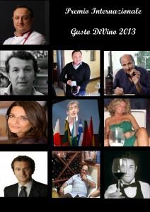 i premiati del premio_internazionale_gusto_divino_2013