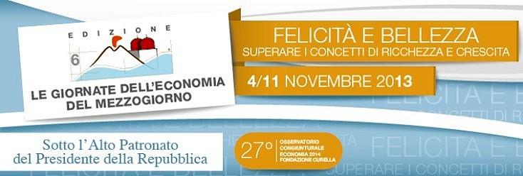 Giornate Economia Mezzogiorno VI edizione (locandina)