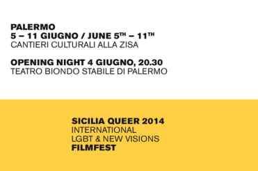 Palermo – Si conferma l'evento culturale il Sicilia Queer Film Fest che quest'anno sarà alla quarta edizione. La settimana del Festiva Internazionale di Cinema LGBT ha avuto un'anticipazione il 4 giugno al Teatro Biondo Stabile di Palermo, si proseguirà poi a partire dal 5 all'11 giugno presso i Cantieri Culturali della Zisa, ove si assisterà