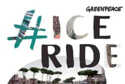 PALERMO – Sono state migliaia le persone che ieri, 4 ottobre,hanno preso parte, alla #IceRide, la pedalata polare promossa da Greenpeace in 32 Paesi del mondo (www.iceride.org), giunta quest'anno alla seconda edizione. Oltre 150 gli eventi in tutto il mondo organizzati non solo da Greenpeace ma anche da gruppi di cittadini che spontaneamente hanno aderito.