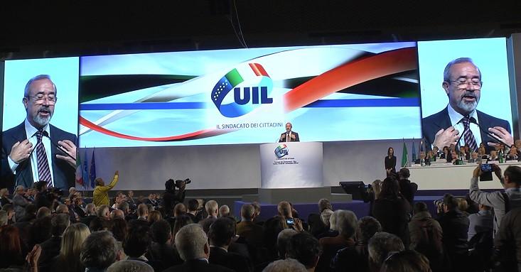 XVI Congresso nazionale UIL - Intervista a Carmelo Barbagallo 004 bis