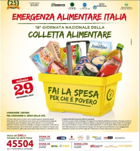 locandina banco alimentare 29 novembre PER ARTICOLO