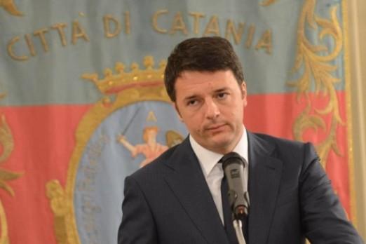 matteo Renzi a Catania SEQUENZA GRANDE