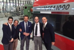 Carini (PA) – Sarà tutto made in Sicily il nuovo treno super veloce Frecciarossa che farà il suo primo viaggio in occasione dell'inaugurazione dell'Expo 2015 di Milano, collegando in poco più di due ore, la grande metropoli del nord con la capitale, correndo alla massima velocità di 400 km orari. L'impresa Omer S.r.l. con sede
