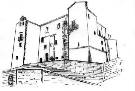 IL CASTELLO grafica di Vincenzo Cucco