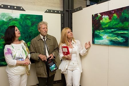 Inaugurazione vernissage 'I Colori della Terra' di Gilda Gubiotti (IMG_1982) 2