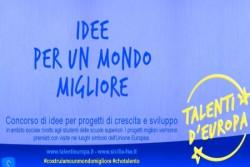 Palermo – Sono sei i vincitori, più un premio speciale, del concorso di idee Talenti d'Europa, il progetto finanziato dall'assessorato alla Formazione della Regione siciliana attraverso il PO-FSE 2007/2013. A conclusione della tre giorni di manifestazione, con migliaia di persone in piazza Marina a Palermo, la giuria costituita da dirigenti regionali ed esperti, ha premiato