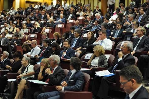 pubblico al convengo