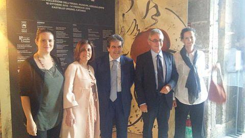 Foto inaugurazione mostra  Catania