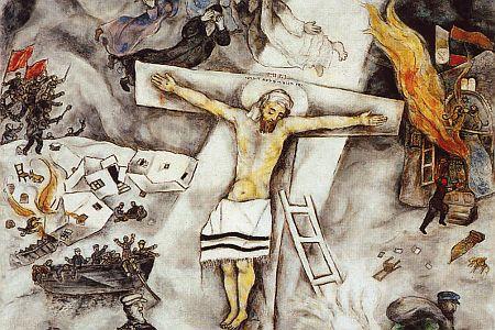 Marc Chagall crocifissione URL IMMAGINE SOCIAL