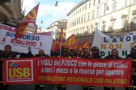 sciopero vigili del fioco URL IMMAGINE SOCIAL