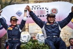 Si chiude la 100th edizione Targa Florio. Paolo Andreucci e Anna Andreussi grandi vincitori