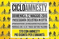 CicloAmnesty 2016 Torna la pedalata in giallo