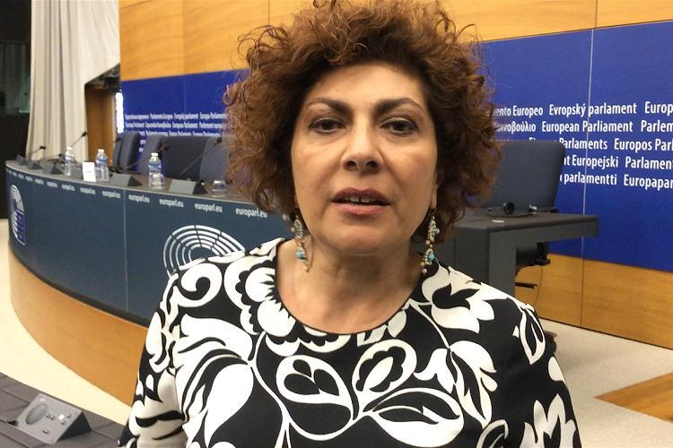 Intervista a Strasburgo all'europarlamentare Michela Giuffrida sull'istituzione, da parte dell'Unione Europea, di una propria Guardia costiera e di frontiera