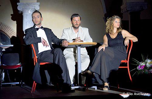 Giuseppe Montaperto,Massimiliano La Grua,Clelia Cucco,spettacolo