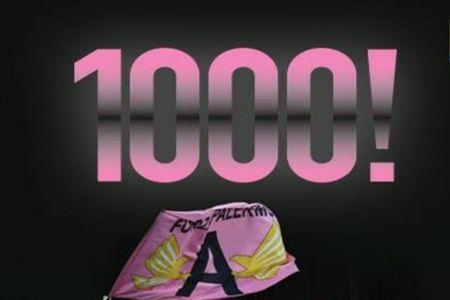 palermo 1000 partite URL IMMAGINE SOCIAL