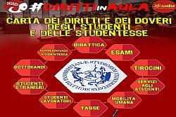 #DIRITTIinAULA: L'UDU Palermo presenta la Carta dei Diritti e Doveri degli Studenti!
