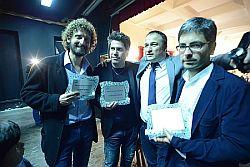 Premio Mario Francese 2017 Ordine Giornalisti Sicilia alla doppia coppia delle Iene