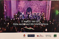 Festa nazionale Unità d'Italia il 17 marzo al Santa Cecilia, a favore dei più deboli