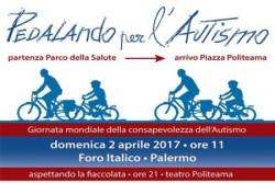 A Palermo Pedalando per l'Autismo per la giornata mondiale Autismo