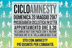 CicloAmnesty 2017 Torna la pedalata in giallo