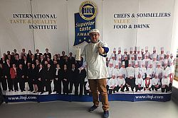 """Il maestro gelataio, volto noto del programma la """"Prova del cuoco"""" di Rai uno, nel prestigioso concorso, si è piazzato primo su 500 concorrenti provenienti da tutto il mondo, con il suo prezioso gelato nutriceutico, denominato il gelato di Maciste, per le sue peculiarità nutrizionali.La giuria era composta da 60 chef e gelatieri di livello"""