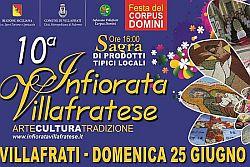 Infiorata di Villafrati (Pa) festeggia 10 anni