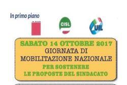 Il 14 ottobre la Mobilitazione nazionale di Cgil, Cisl e Uil. Ecco interviste ai Segretari Generali Regionali CISL e UIL e al Segretario di Palermo CGIL