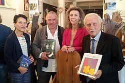 Presidente Fondazione Fiumara d'Arte Presti incontra Comitato Consultivo Peggy Guggenheim Venezia