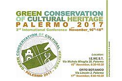"""Nei giorni del 16 e 17 Novembre 2017, nelle splendide cornici dell'Istituto I.E.ME.S.T. (Istituto Mediterraneo di Scienza e Tecnologia) e dell'Orto Botanico di Palermo (Università degli Studi di Palermo), si è svolta la Seconda Conferenza Internazionale """"Green Conservation of Cultural Heritage"""". La Conferenza, promossa dall'associazione internazionale YO.CO.CU. (Youth for Conservation of Cultural Heritage),arriva alla sua"""